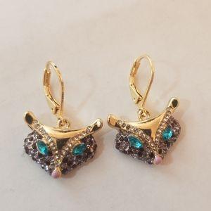 NWT Betsey Johnson Earrings Little Fox